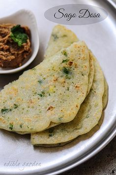 Sago Dosa - Sabudana Dosa Recipe - Dosa Batter Recipes