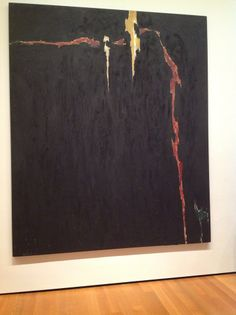 Clyfford Still Artist Painting 1944-N No. 2 Oil On Canvas Harriet Sidney Janis Collection Moma Museum Of Modern Art New York