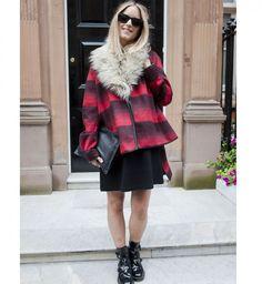 Le tartan, look de la Fashion Week printemps été 2014 de Londres - Cosmopolitan.fr
