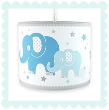 Elefanten Boys blau/grau: Dinki-Balloon