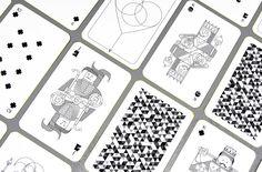 Oksal yesilok whimsical playing cards