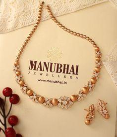 Bring some drama with this showstopper!  #Gold #Diamonds #Jewellery #Manubhai #Mumbai #Borivali