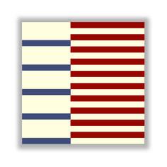 Breton Stripes - Pigment Print on Archival Paper
