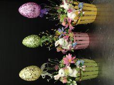Egg Topiary Spring & Easter collection 2013 Designed by Christian Rebollo Easter Projects, Easter Crafts, Holiday Crafts, Easter Flower Arrangements, Easter Flowers, Easter Bunny, Easter Eggs, Diy Osterschmuck, Diy Easter Decorations