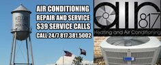 Get your AC tuned up. Keller heat can be harsh so get ready. www.air817.com Commercial Air Conditioning, Heating And Air Conditioning, Conditioner, Building, Buildings, Construction