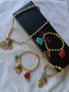 Bracelet laminados
