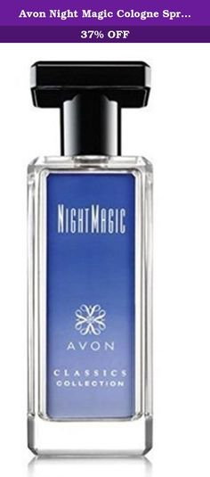 Avon Night Magic Cologne Spray, 1.7 fl oz. AVONS NIGHT MAGIC COMES IN A CONTAINER OF 1.7 FL OZ AND IN ITS ORIGINAL BOX. IT IS A COLOGNE SPRAY.