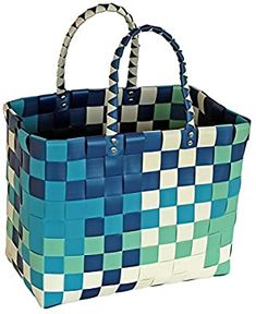 Amazon.com: Doooka Durable Woven Reusable Eco-friendly Recycled Material Shopping Tote Bag: Kitchen & Dining Produce Bags, Reusable Grocery Bags, Market Bag, Shopping Bag, Eco Friendly, Recycling, Tote Bags, Organization Store, Plastic Bags