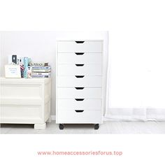 Wood 7 Drawer Storage Cabinet by Devaise (White)  BUY NOW     $166.99    * Overall dimension: 18.9″W x 15.7″D x 34.6″H * Weight: 61.7 lbs * Color: White/Oak   Product Features:   * Eco-friendly pa ..  http://www.homeaccessoriesforus.top/2017/03/11/wood-7-drawer-storage-cabinet-by-devaise-white/