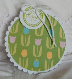 Baby Shower Thank You Cards 40 Spring Tulips by CardinalBoutique, $70.00