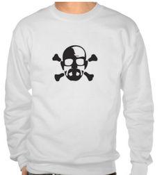 Skull & Bones  Walter White Breaking Bad Sweatshirt by CTFUShirts, $26.95