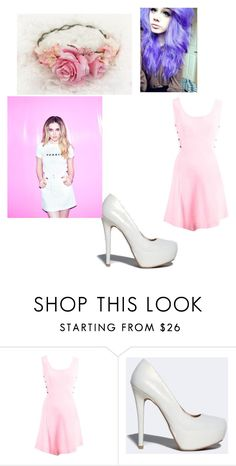 """""""Perrie Edwards"""" by happyhazzagirl on Polyvore featuring Versace and Qupid"""
