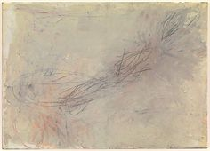 Cy Twombly, Untitled, 1957