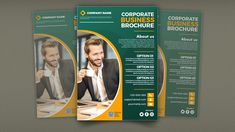 Zakelijke brochureontwerp in Affinity Designer 1 8 Corporate Business, Business Brochure, Affinity Designer, Company Names, Brochure Design, Wasting Time, In The Heights, Told You So, Ads