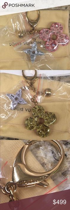 Louis Vuitton Glam Rock Charm SUPER RARE and hard to find, Louis Vuitton Glam Rock Charm. Brand new and never used. I store this charm with jewelry bags to prevent scratches. Comes with dust bag and box. Louis Vuitton Other