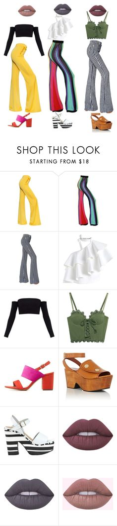 """""""'80's Power"""" by frnkishot ❤ liked on Polyvore featuring Balmain, Sonia Rykiel, Chicwish, Puma, Charlotte Russe, Derek Lam, FIORINA and Lime Crime"""