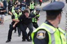 Quebec City Arrest - Royal Tour by Jonathan Wagner, via Flickr