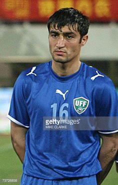 Uzbekistan's Hamza Karimov poses prior to the team's international friendly match against China in Macau 27 March 2007 China beat Uzbekistan 31 AFP...
