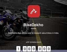 "Check out new work on my @Behance portfolio: ""BikeDekho"" http://be.net/gallery/48544511/BikeDekho"
