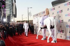 LOS ANGELES, CA - NOVEMBER 24: Singer Lady Gaga attends the 2013 American Music Awards at Nokia Theatre L.A. Live on November 24, 2013 in Los Angeles, California.