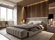 Modern Bedroom With Tips To Help You Design & Accessorize Yours - Bedroom Design Modern Luxury Bedroom, Master Bedroom Interior, Luxury Bedroom Design, Modern Master Bedroom, Bedroom Bed Design, Bedroom Furniture Design, Stylish Bedroom, Luxurious Bedrooms, Home Decor Bedroom