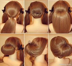 Classy lower bun 10 Easy Elegant Wedding Hairstyles That You Can DIY Simple Gorgeous Brides Hairstyle Updo Hairstyles Tutorials, Easy Hairstyles For Long Hair, Hairstyle Tutorials, Trendy Hairstyles, Fashion Hairstyles, Lower Bun Hairstyles, Vintage Hairstyles, Easy Elegant Hairstyles, Hairstyle Ideas