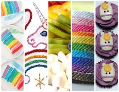 18 Rainbow and Unicorn Projects!