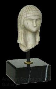 Venus Lady of Brassempouy Prehistoric Head Bust Statue