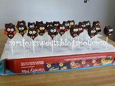 owl cake pop how to