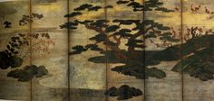 """""""Trees and Plants of the Four Seasons,"""" Muromachi period, about 1500 (Japan)"""