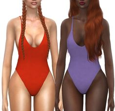Mercy Swimsuit Recolor at Kenzar Sims • Sims 4 Updates