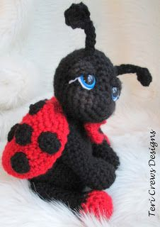 Teri Crews Designs: New Free Ladybug Pattern