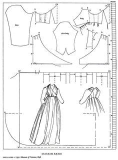 1797 open robe