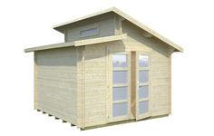 Leif 8.7sqm log cabin