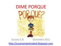 SUSANA Maestra de A.L.: RAZONAMIENTO LÓGICO: CAUSALIDAD