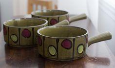 Vintage Handled Soup bowls