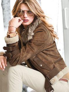Faux-shearling Aviator Jacket So Cute! #VictoriasSecret http://www.victoriassecret.com/ss/Satellite?c=Page=1258579553985=vsdonlineshop/Page/vsdCQOProductPage=Xs-274593?cm_mmc=pinterest-_-product-_-x-_-x