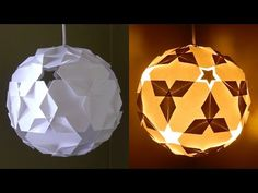 Lampada Origami Di Edward Chew : 550 best lampy images on pinterest lights paper engineering and
