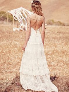 Spell & the Gypsy Collective x Free People Canyon Moon Mesh Gown at Free People Clothing Boutique
