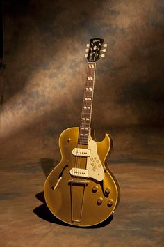 955 Gibson ES-295… This a guitar that Danny Gatton turned me on to when I was just 12 years old. He had a similar model that was rumored to be Scotty Moore's original Elvis guitar from back in the Sun Record days. These guitars have a great sound, very bright and open. This model started in 1952 and was discontinued (the reissued them in the 90′s) in late 1959.