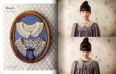 Crochet Lace Collars and Tippets - japanese craft book. $24.50, via Etsy.