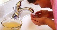 Ecco cosa succede se lavi tutti i giorni il viso con aceto di mele http://salutecobio.com/lavare-il-viso-con-aceto-di-mele