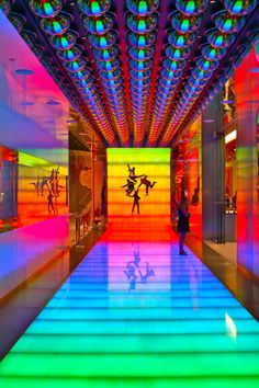 "Entrance to the Beatles ""Love"" Cirque Du Soliel show"