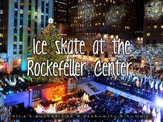 : Skate at the Rockefeller center
