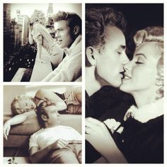 james dean and marilyn monroe - Google Search