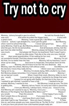 this is sad and rage worth I almost smashed my tablet on the ground remember don't bring guns to school that older brother was an idiotic mouse brain fool WHO IS THAT STUPID its hard when you dont get 2 say good by 2 your family😭😭😭💗 Sad Quotes That Make You Cry, Stories That Will Make You Cry, Sad Love Stories, Try Not To Cry, Touching Stories, Sweet Stories, Cute Stories, How Are You Feeling, Sad Poems