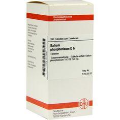 KALIUM PHOSPHORICUM D 6 Tabletten:   Packungsinhalt: 200 St Tabletten PZN: 02119047 Hersteller: DHU-Arzneimittel GmbH & Co. KG Preis:…