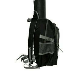 YIX bag black  Yoga backpack - yoga mat bag Boutique 3bbeb48228dd8