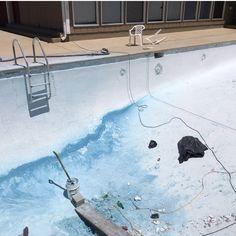 Gunite swimming pool remodel. #commercialguniteswimmingpool #remodel #replaster #retile #construction #MikeFournierTulsa #SonriseGunitePools Sonrisegunitepools.com  Can we build or remodel one for you?