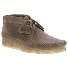 Clarks Desert Weaver Boot men's casual moccasin is classic Clark's construction with a moccasin twist- perfect for every season! Pair this with jeans for a dressier day look.